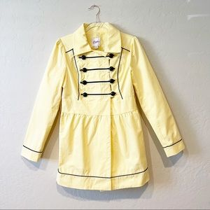 Candies Military Style Button Front Coat